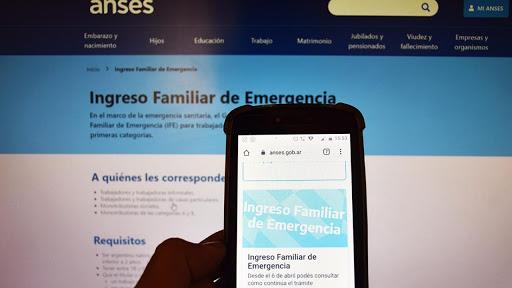 REFUERZO DEL INGRESO FAMILIAR DE EMERGENCIA