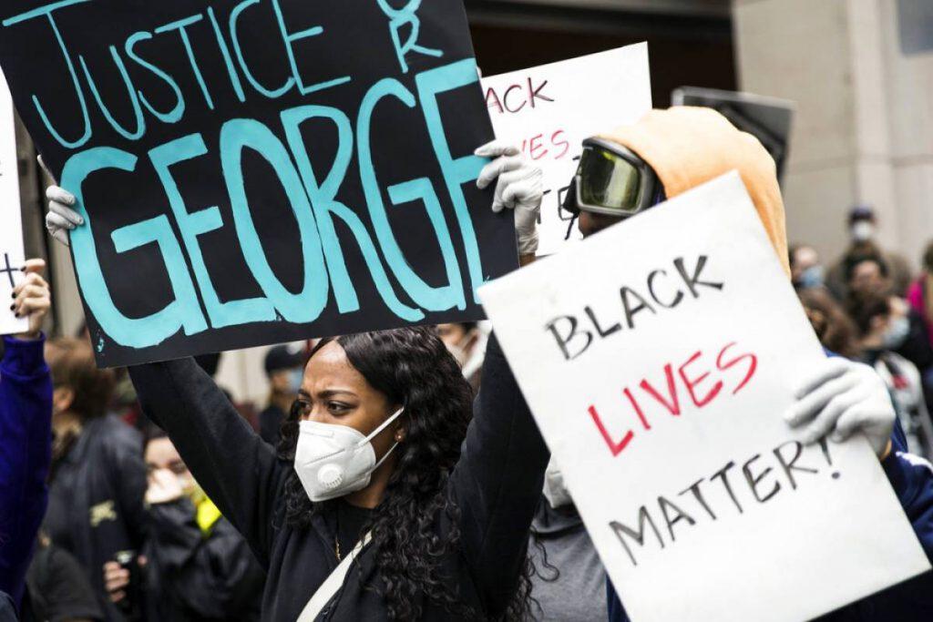 Manifestación en EEUU