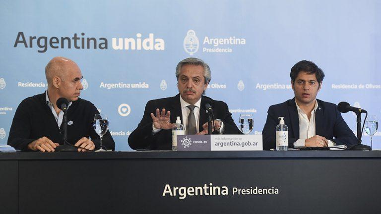 ALBERTO FERNÁNDEZ ANUNCIA UNA NUEVA EXTENSIÓN DE LA CUARENTENA