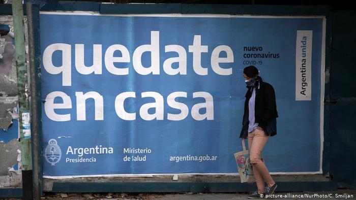 CORONAVIRUS EN ARGENTINA: EN LAS ULTIMAS 24HORAS SE REGISTRATON 2632 CONTAGIOS Y 75 MUERTES POR COVID-19