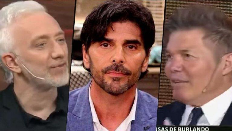 EL INCÓMODO MOMENTO ENTRE ANDY KUSNETZOFF Y FERNANDO BURLANDO