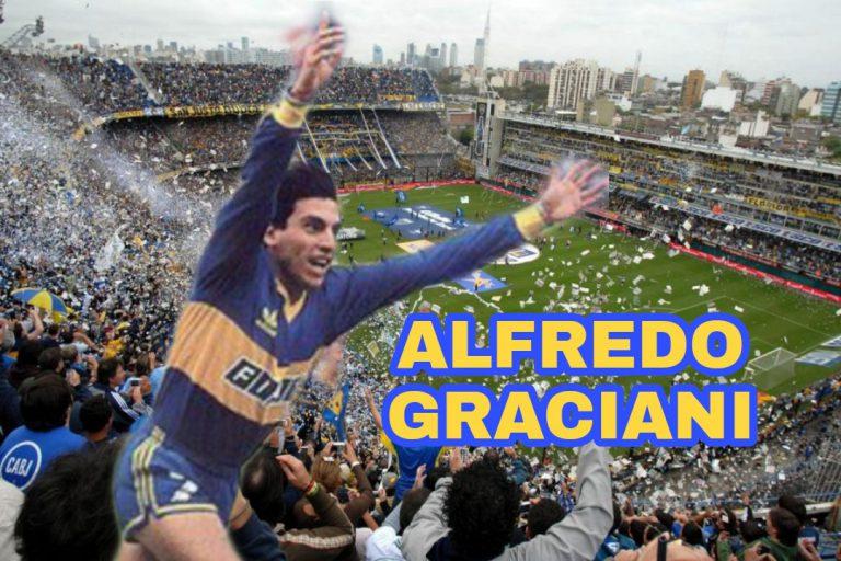 """ALFREDO GRACIANI: """"MI ÍDOLO SIEMPRE ES Y SERÁ DIEGO MARADONA"""""""