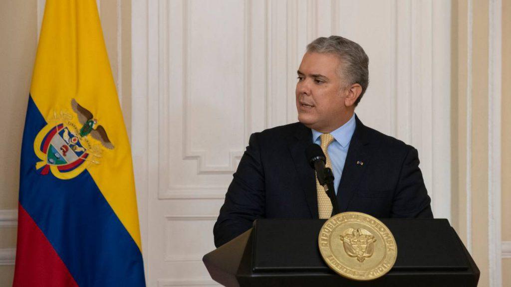 Ivan Duque, Presidente de Colombia.